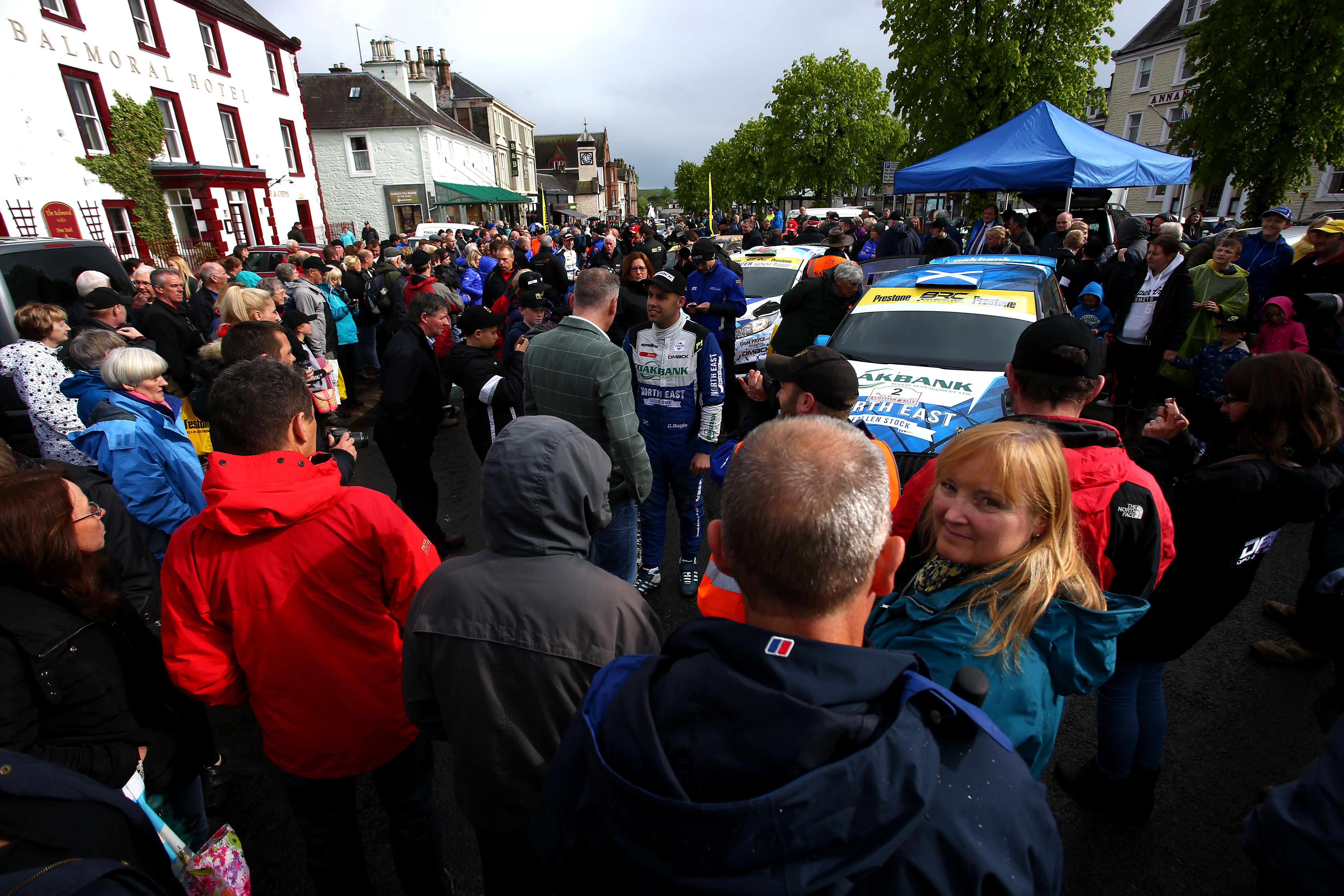 RSAC Scottish Rally returns to Moffatt