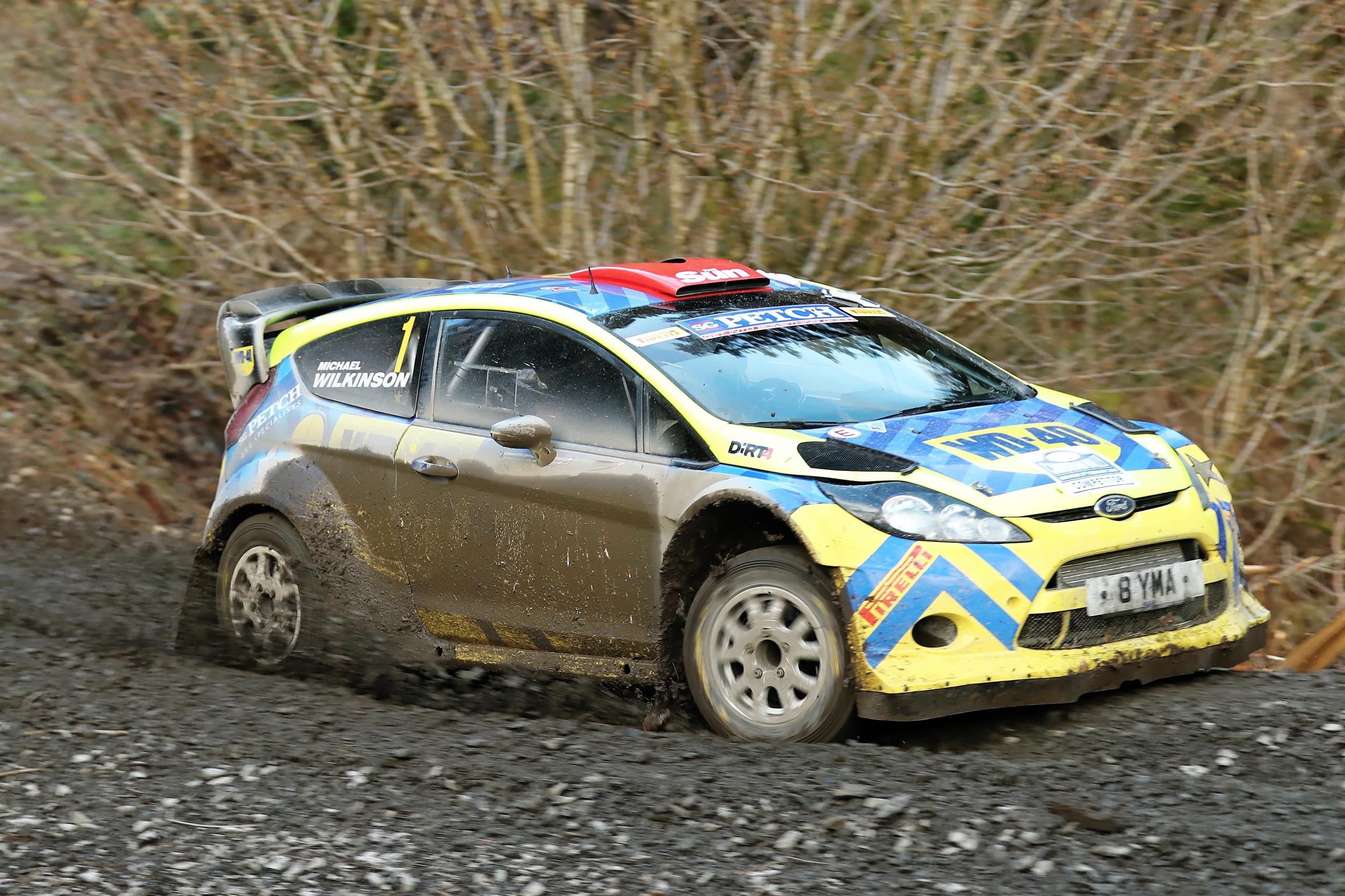 Steve Petch- Fiesta WRC