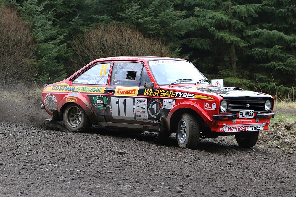 2018 Rally2 competitor Phil Burton