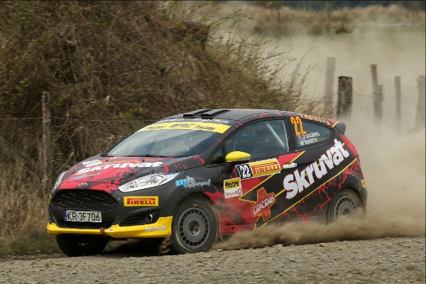Solberg in action