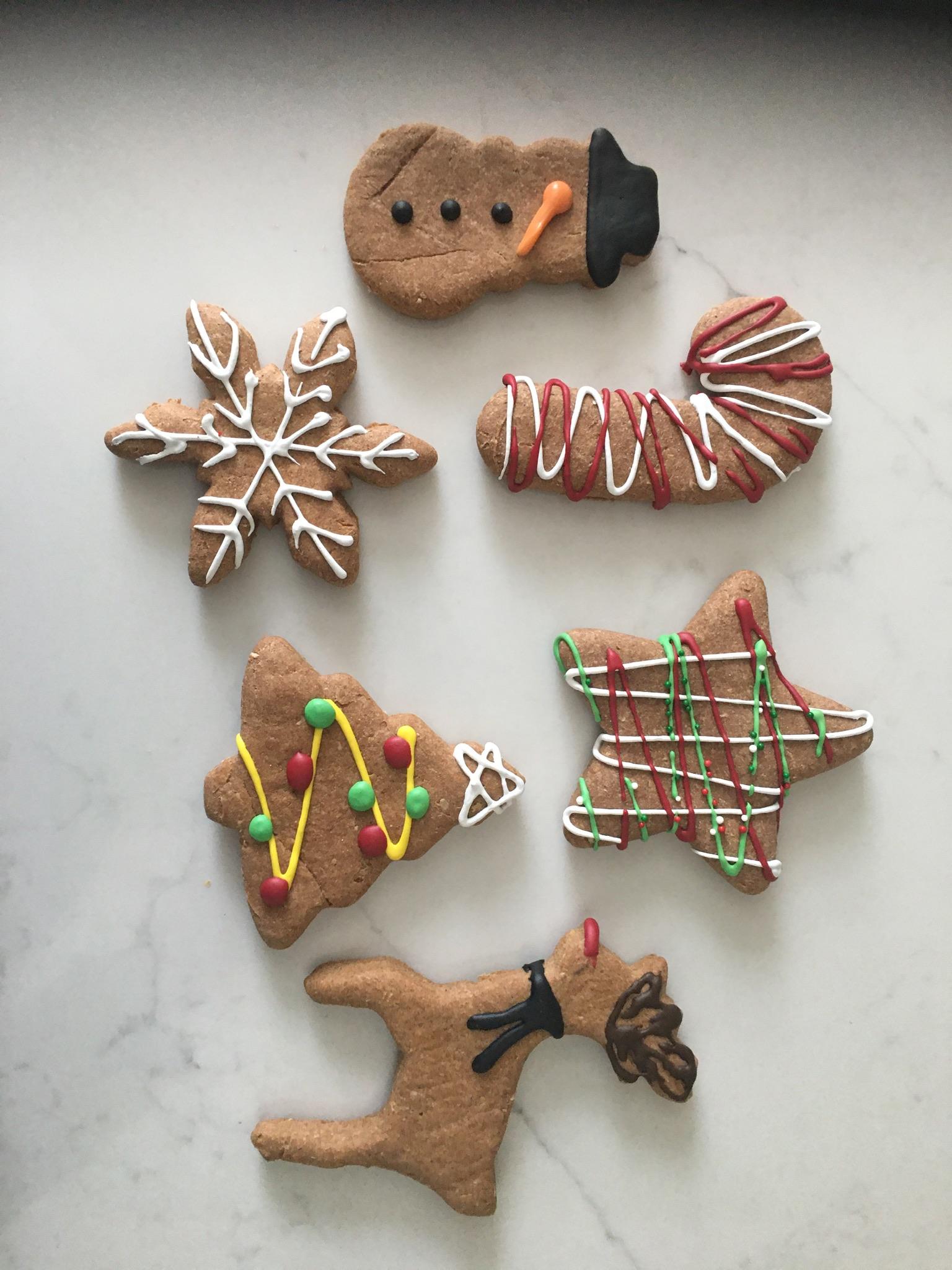 Biscotti Hound Peanut Butter Holiday Biscuits