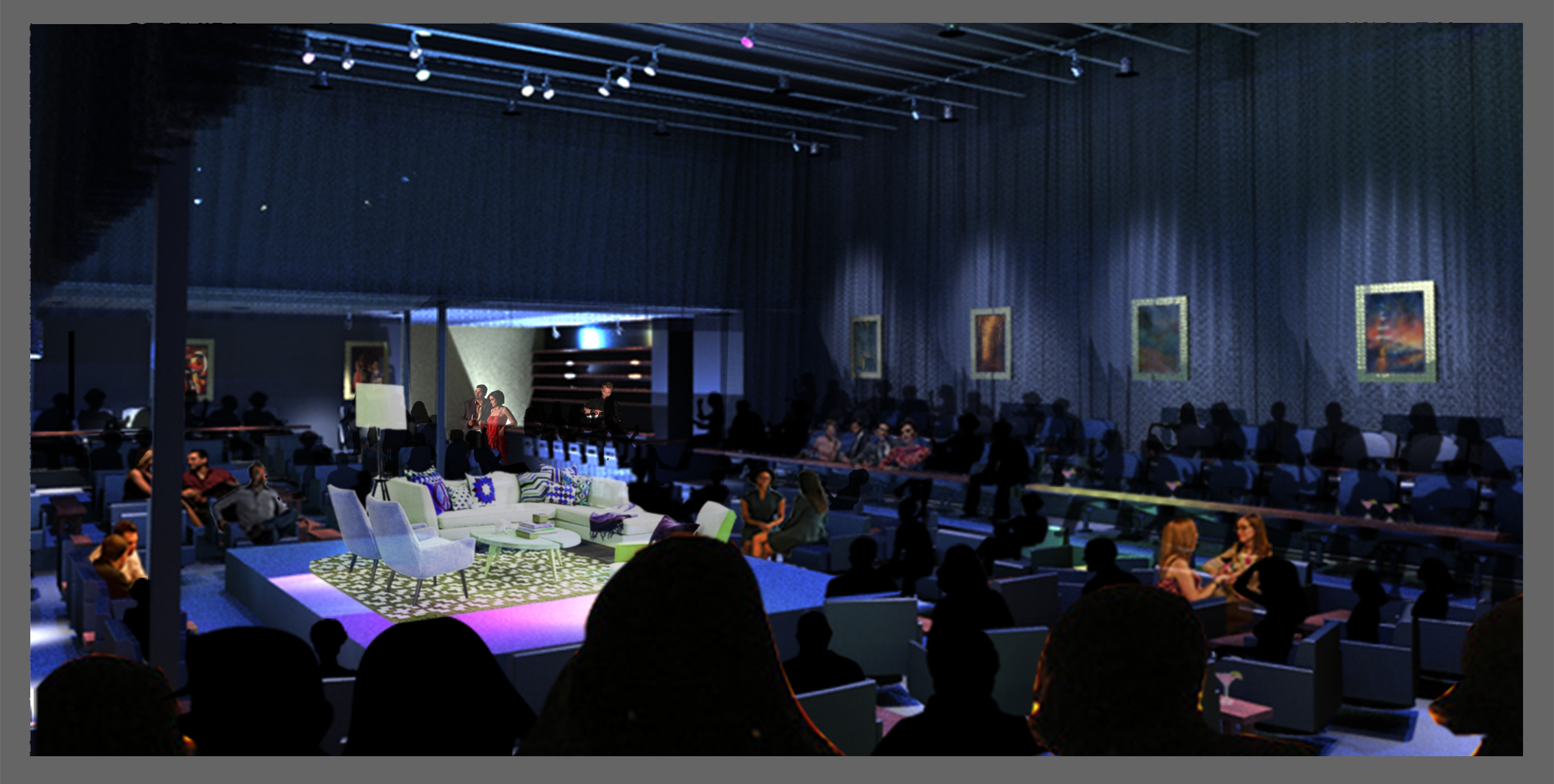 Rendering of Windy City Playhouse