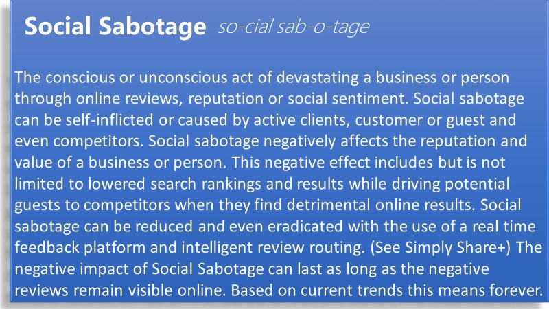 Social Sabotage is negatively affecting casinos. Learn the risk factors now.