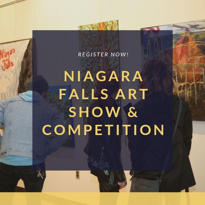 Register now Niagara Falls Art Show & Competiton