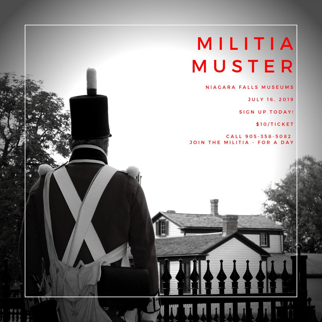 Militia Muster Poster