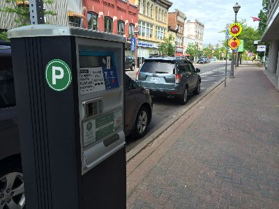 Parking meter on Queen Street
