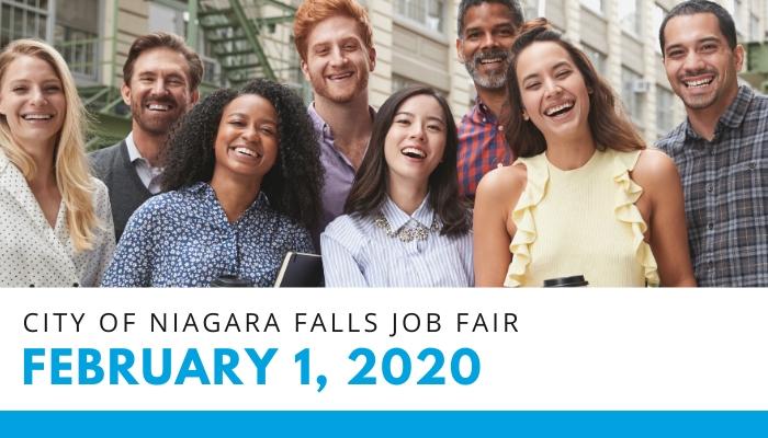 City of Niagara Falls Job Fair: February 1, 2020