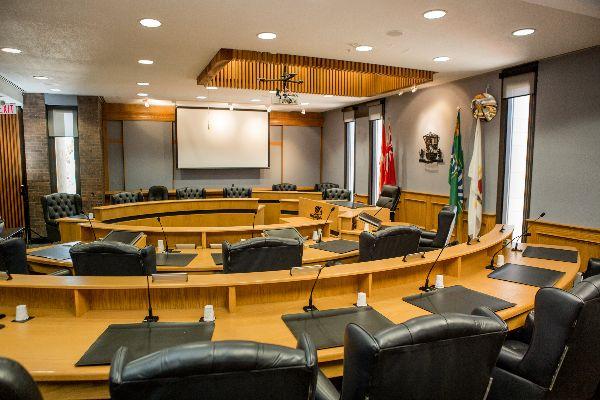 Niagara Falls Council Chambers, City Hall