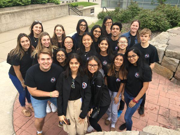 Mayor's Youth Advisory Students