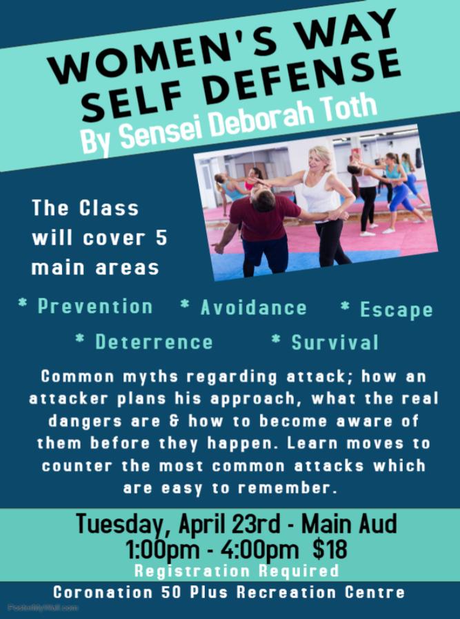 Womens Self Defense Course