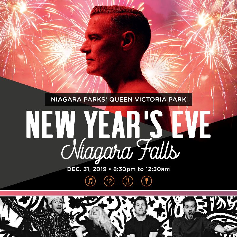 New Year's Eve in Niagara Falls, Queen Victoria Park