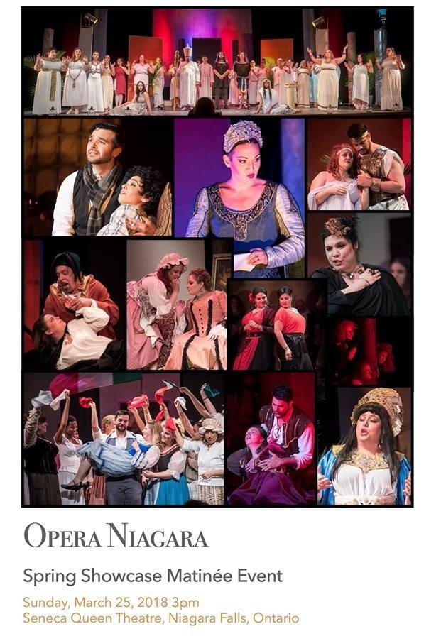Opera Niagara Spring Showcase Matinee Event