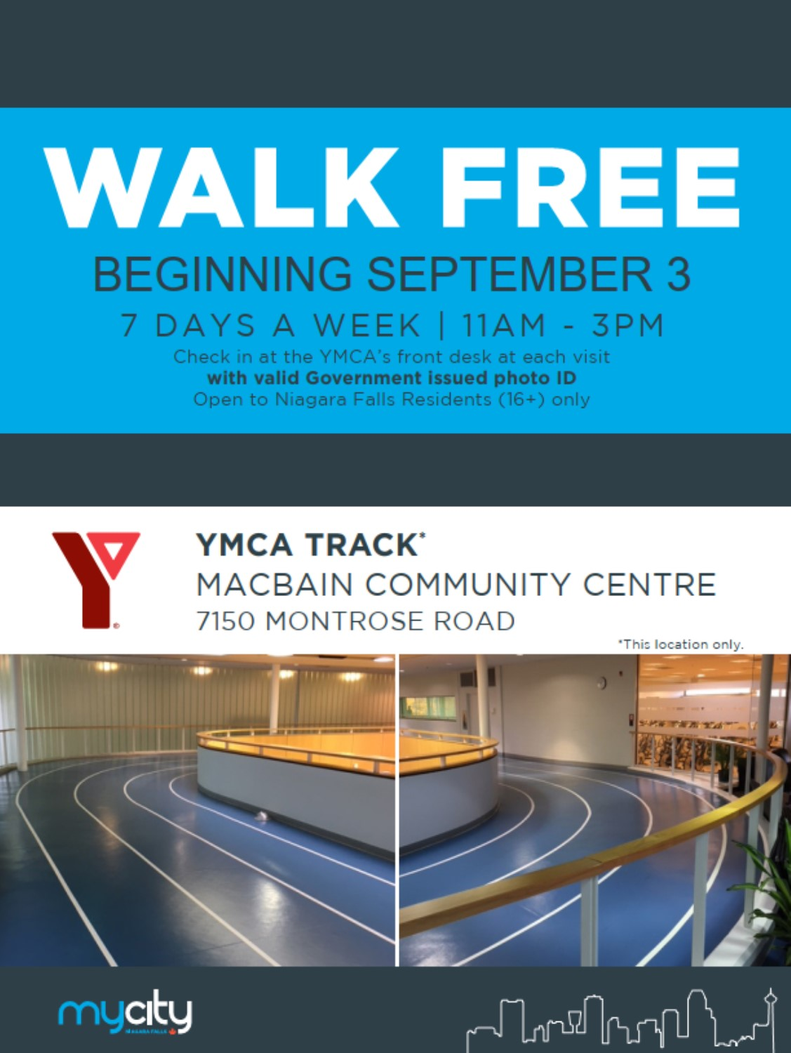 Walk for Free at the Y
