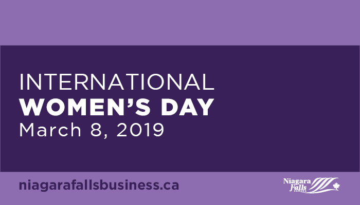 International Women's Day: March 8, 2019. URL: niagarafallsbusiness.ca