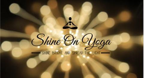 Shine on Yoga logo.