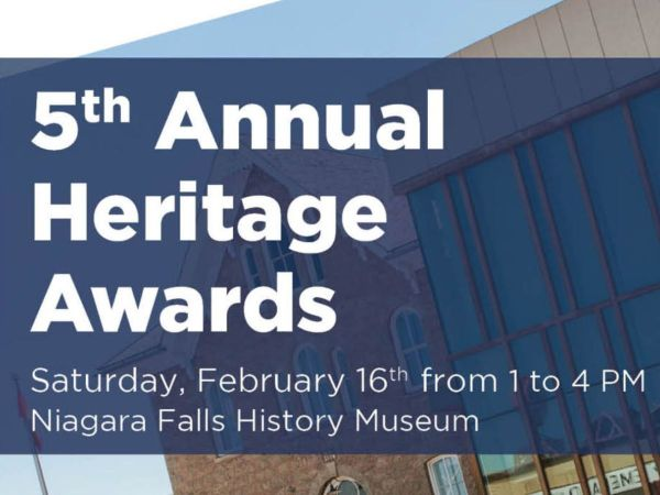 The Niagara Falls History Museum plays backdrop to the Event Title