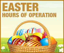 Easter Hours of Operation