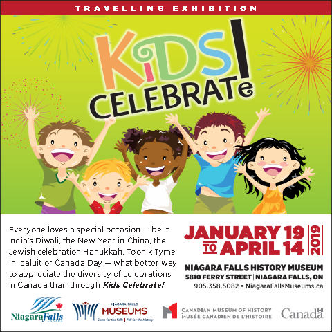 Kids Celebrate exhibition ad