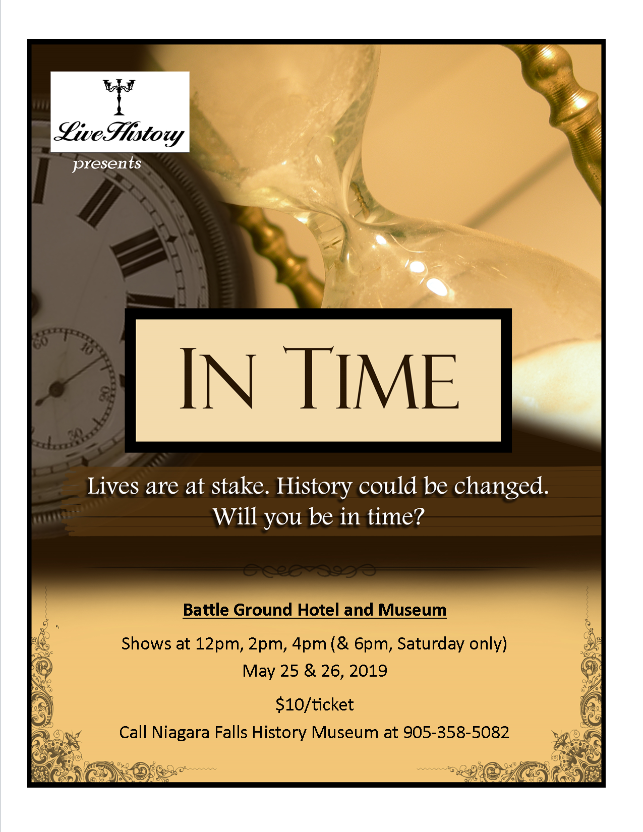 Poster of Live History Event