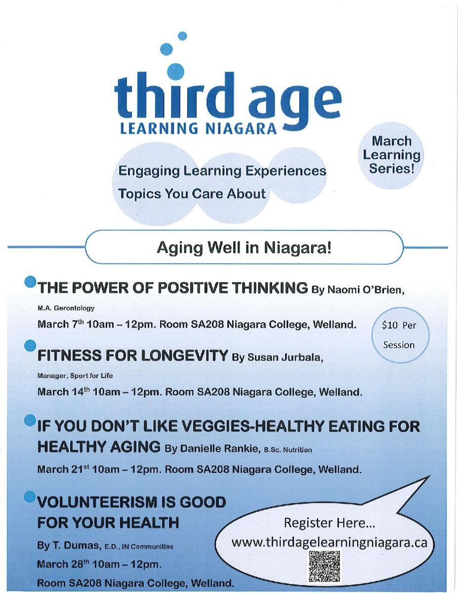 Third Age Learning Series