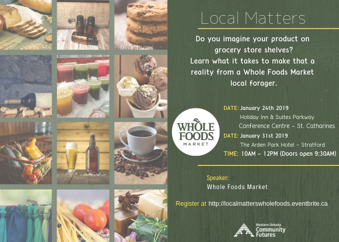 Whole Foods Event Poster
