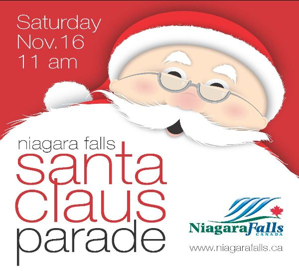 Saturday, November 16, 11am, Niagara Falls Santa Claus Parade