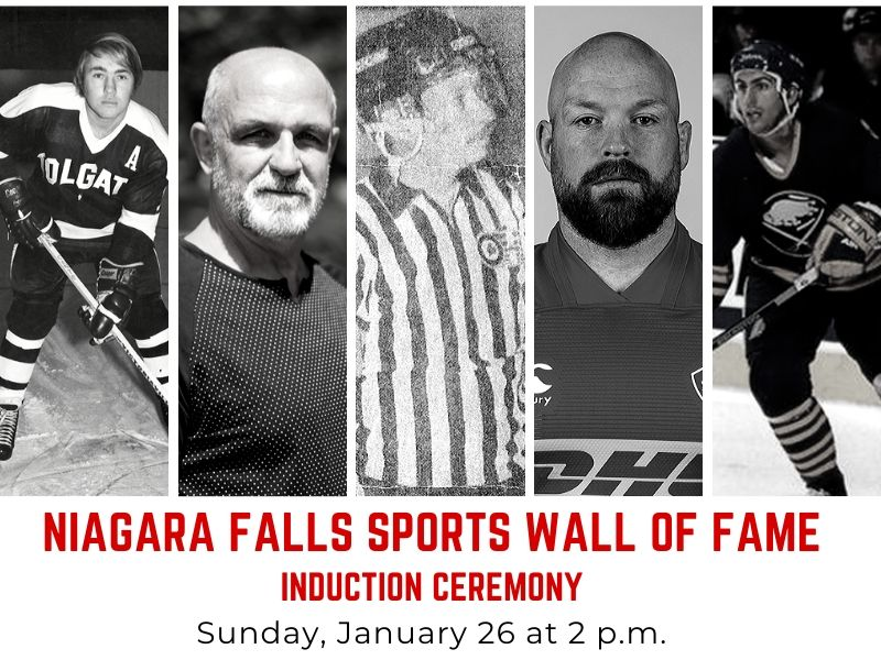 Niagara Falls Sports Wall of Fame Induction Ceremony: Sunday, January 26 at 2pm