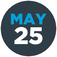 May 25