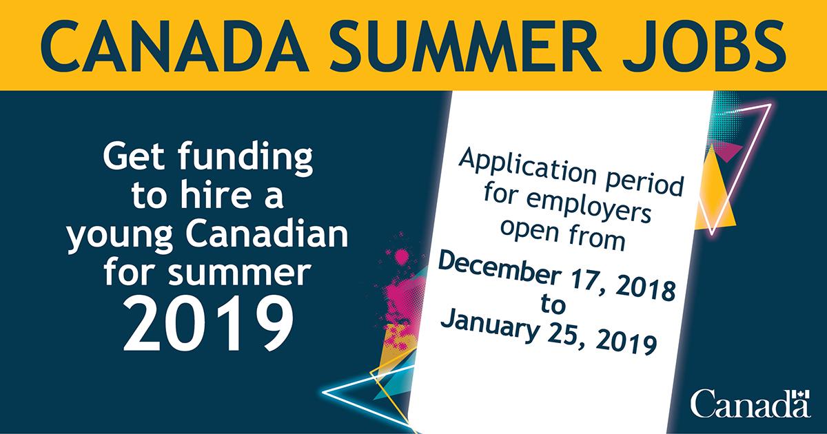 Canada Summer Jobs Ad
