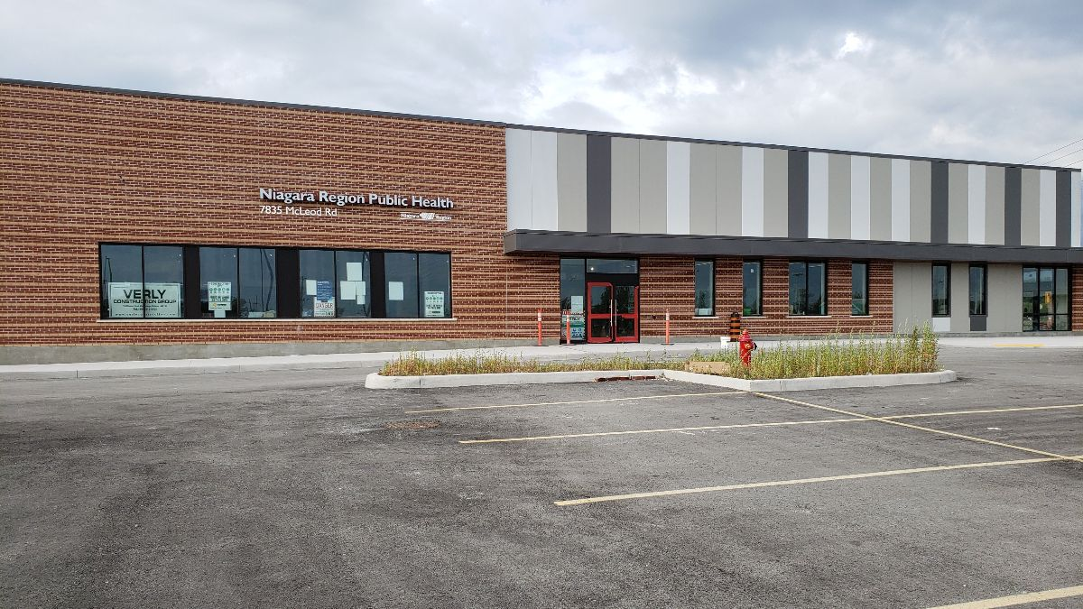 New location of the Niagara Region Public Health building