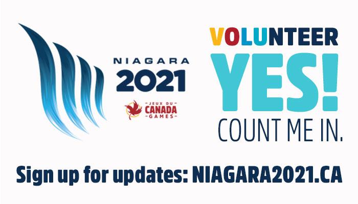 Niagara 2021 Games - Volunteer Opportunities