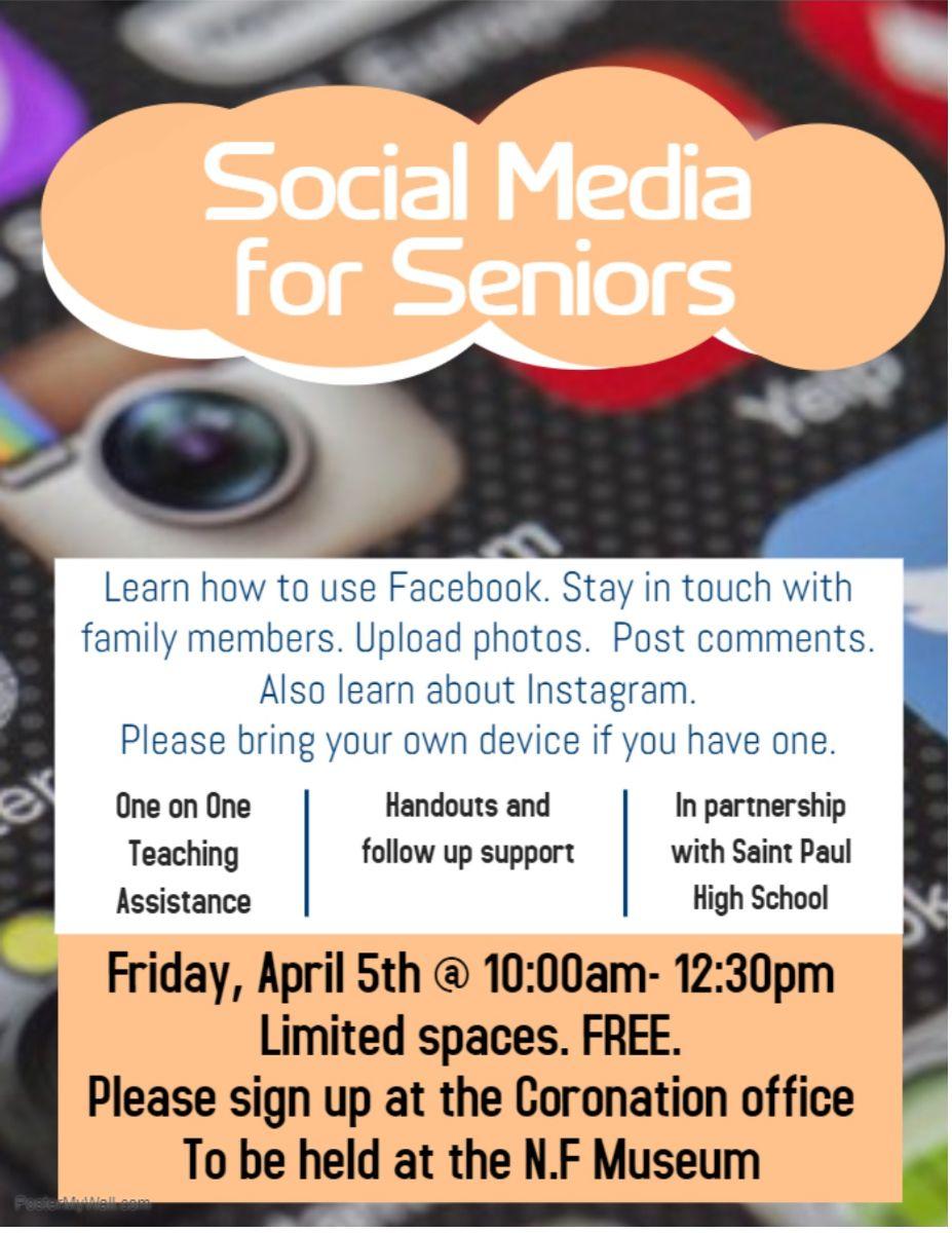 Social Media for Seniors free workshop