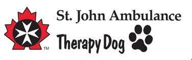 St Johns Ambulance: Therapy Dog (logo)
