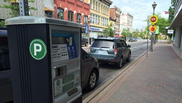 Parking Meter on Queen Street