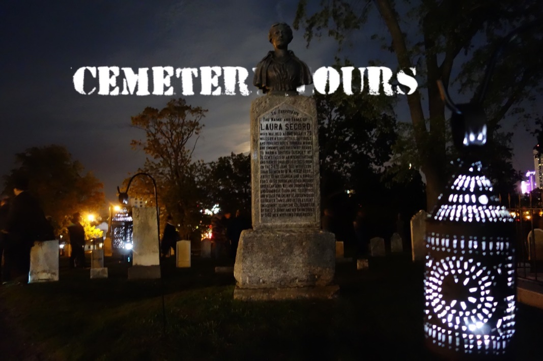 Cemetery Tours Poster