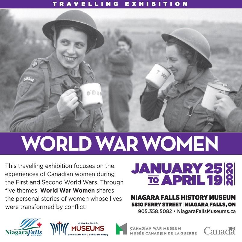 World War Women Poster