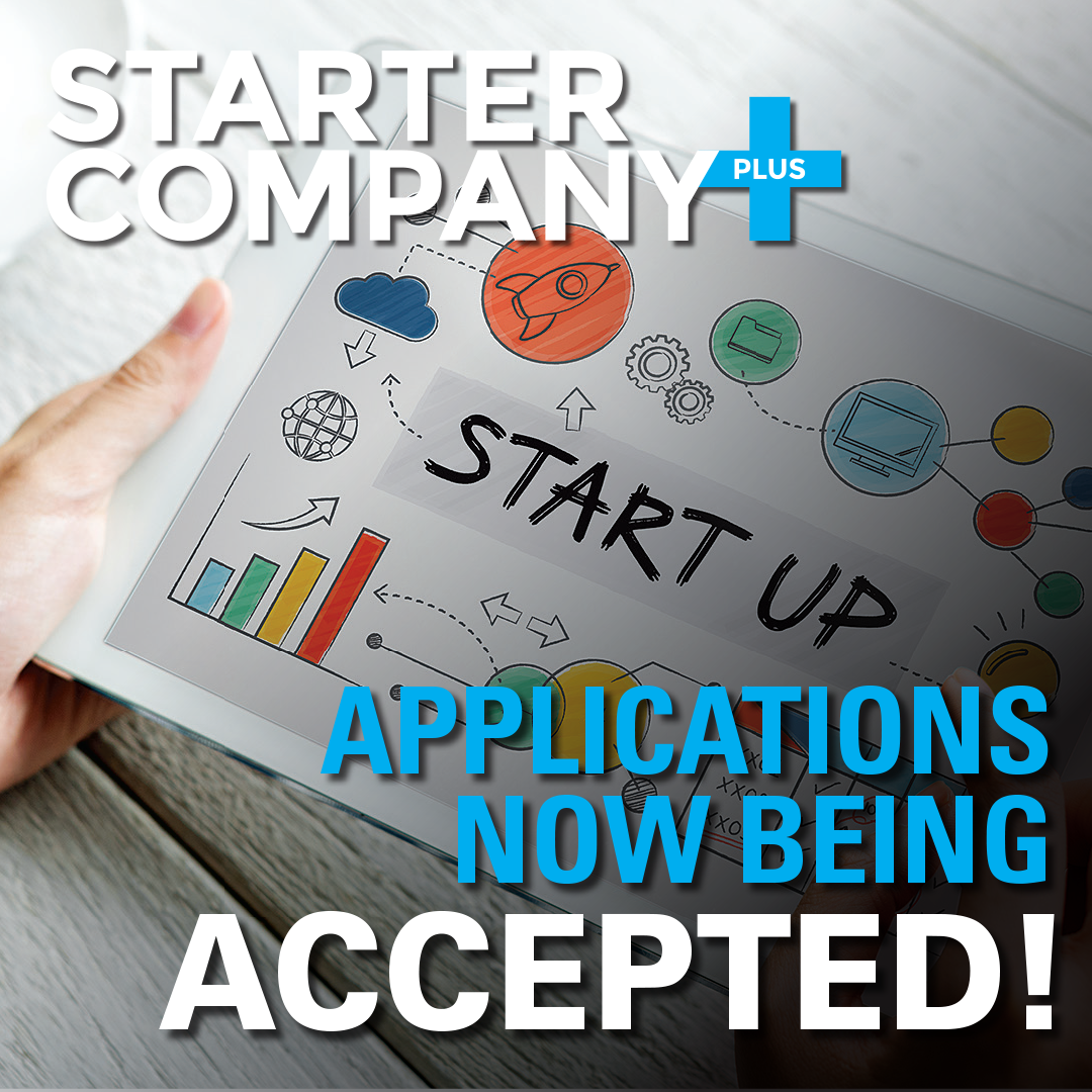 Starter Company Applications Now Being Accepted