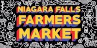 Niagara Falls Farmers Market sign