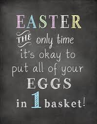 Easter Saying
