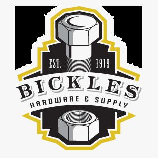 Logo: Bickles Hardware & Supply Est. 1919