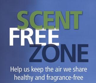 Scent Free Zone