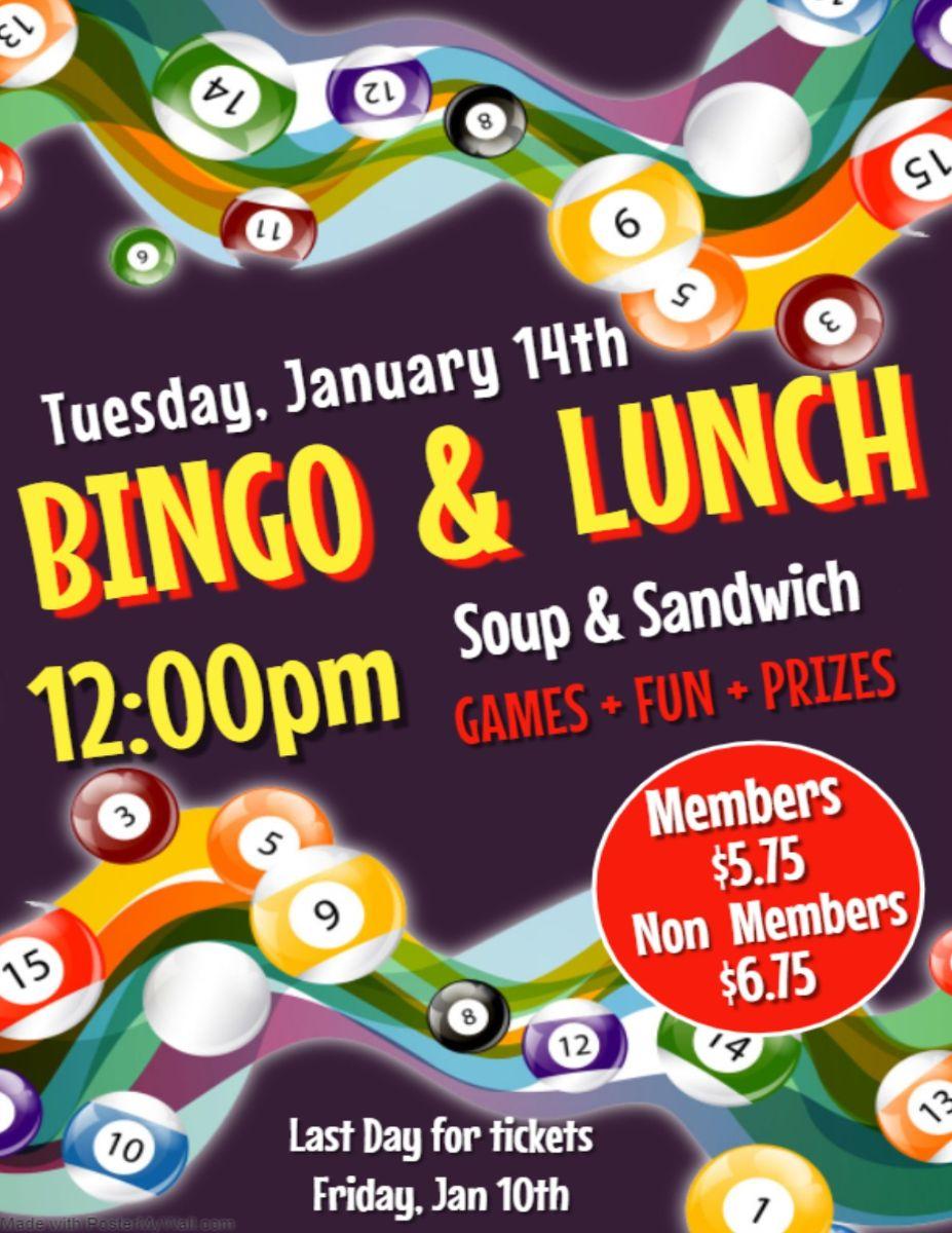 Bingo and Lunch January