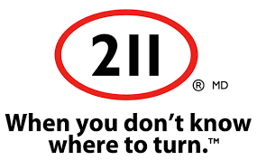 Logo: 211 (When you don't know where to turn)