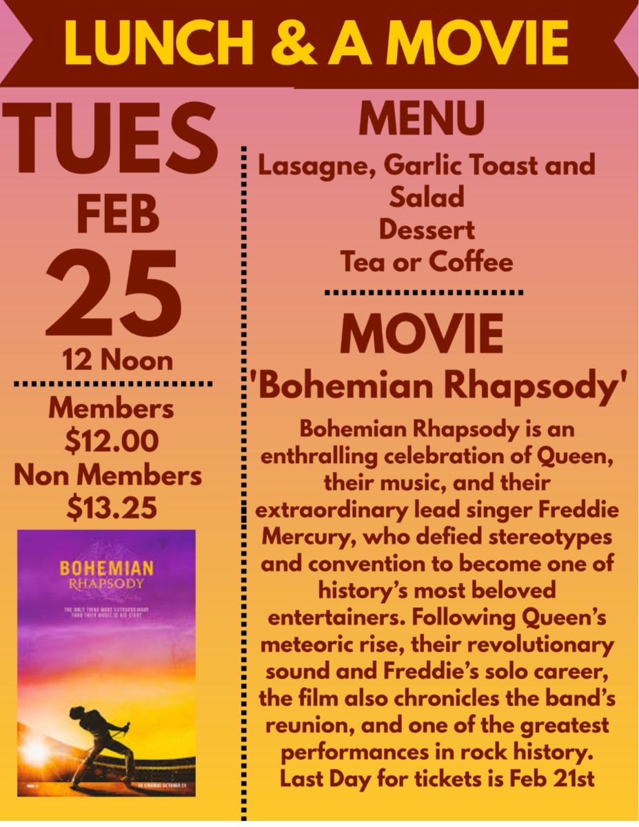 February Lunch & A Movie