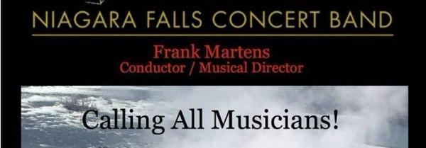 Niagara Falls Concert Band, Frank Martens Conductor/Musical Director