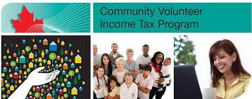 Logo: Community Volunteer Income Tax Program