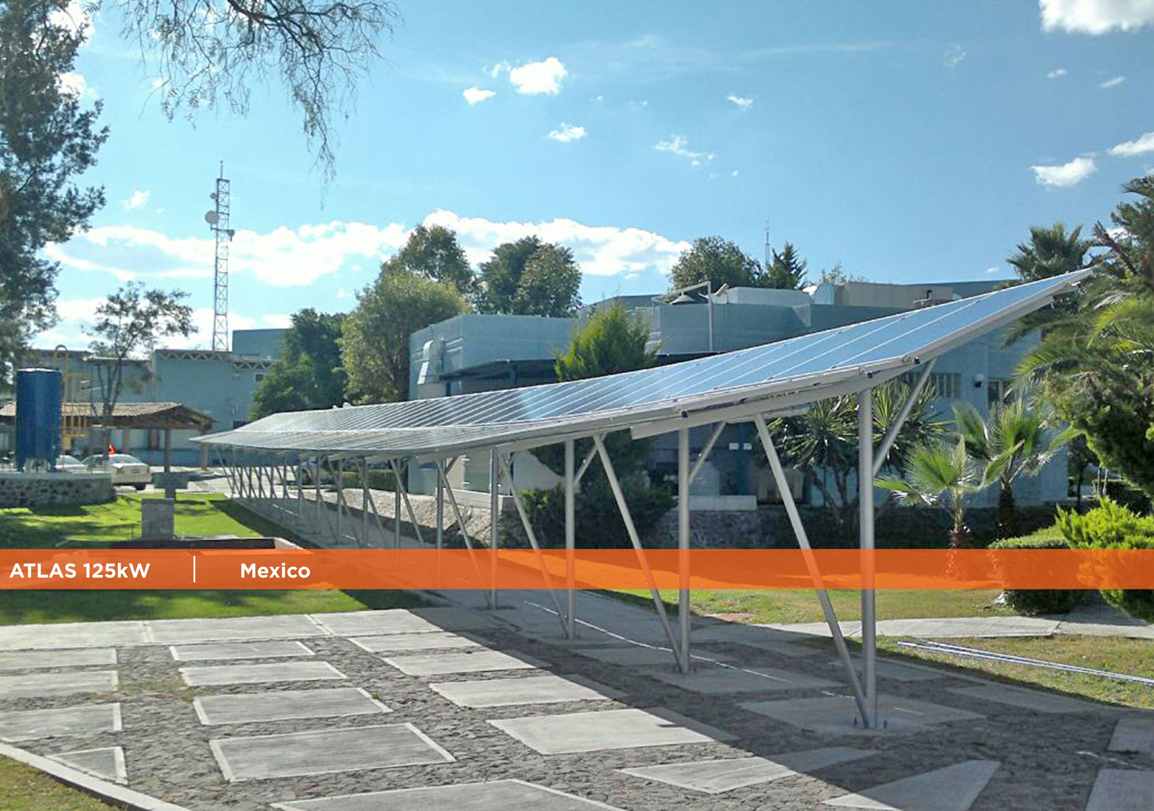 Symtech Solar - Newsletter October 2016-Atlas 125kW Mexico