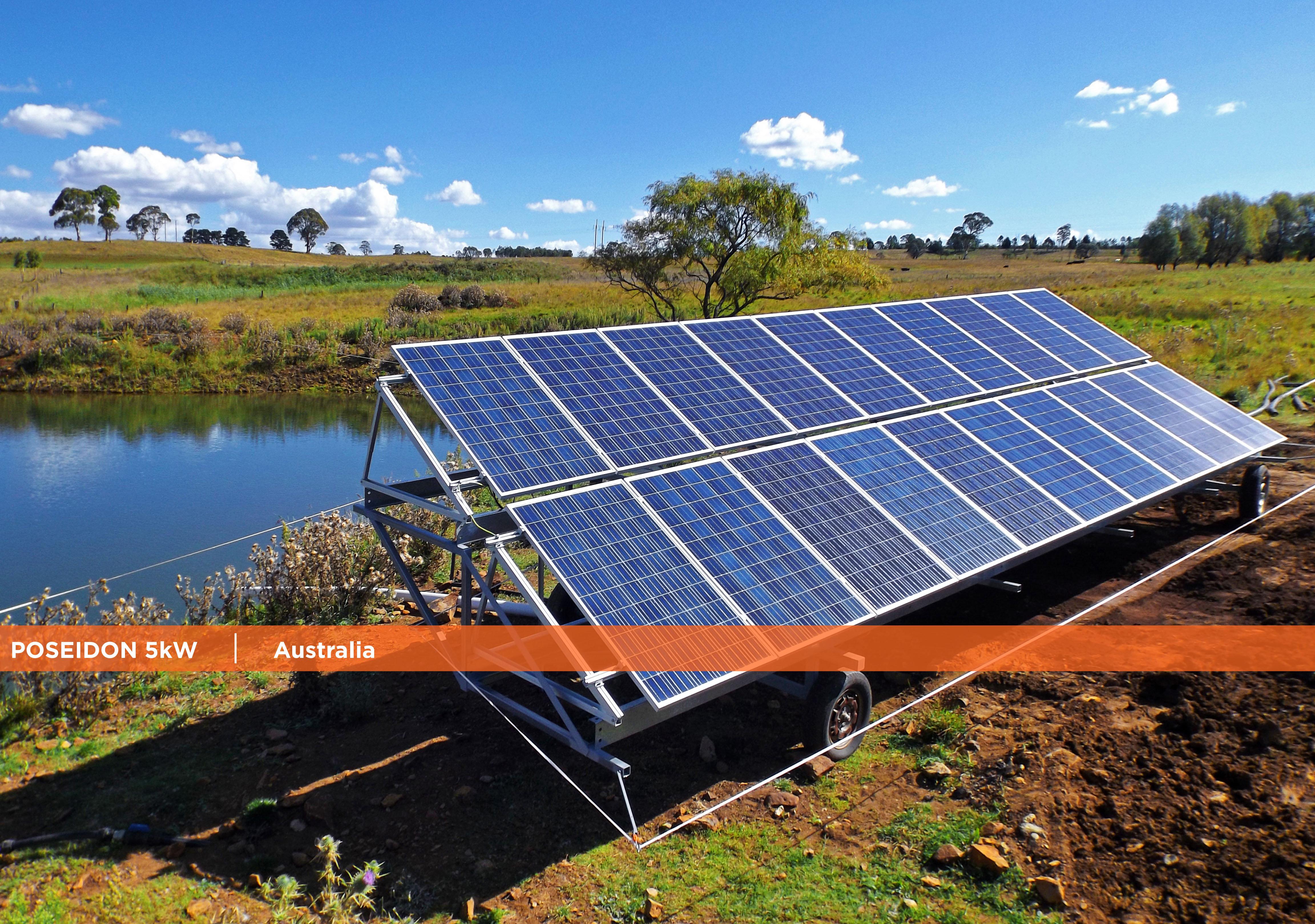 Symtech Solar - Newsletter October 2016-Poseidon 5kW Australia
