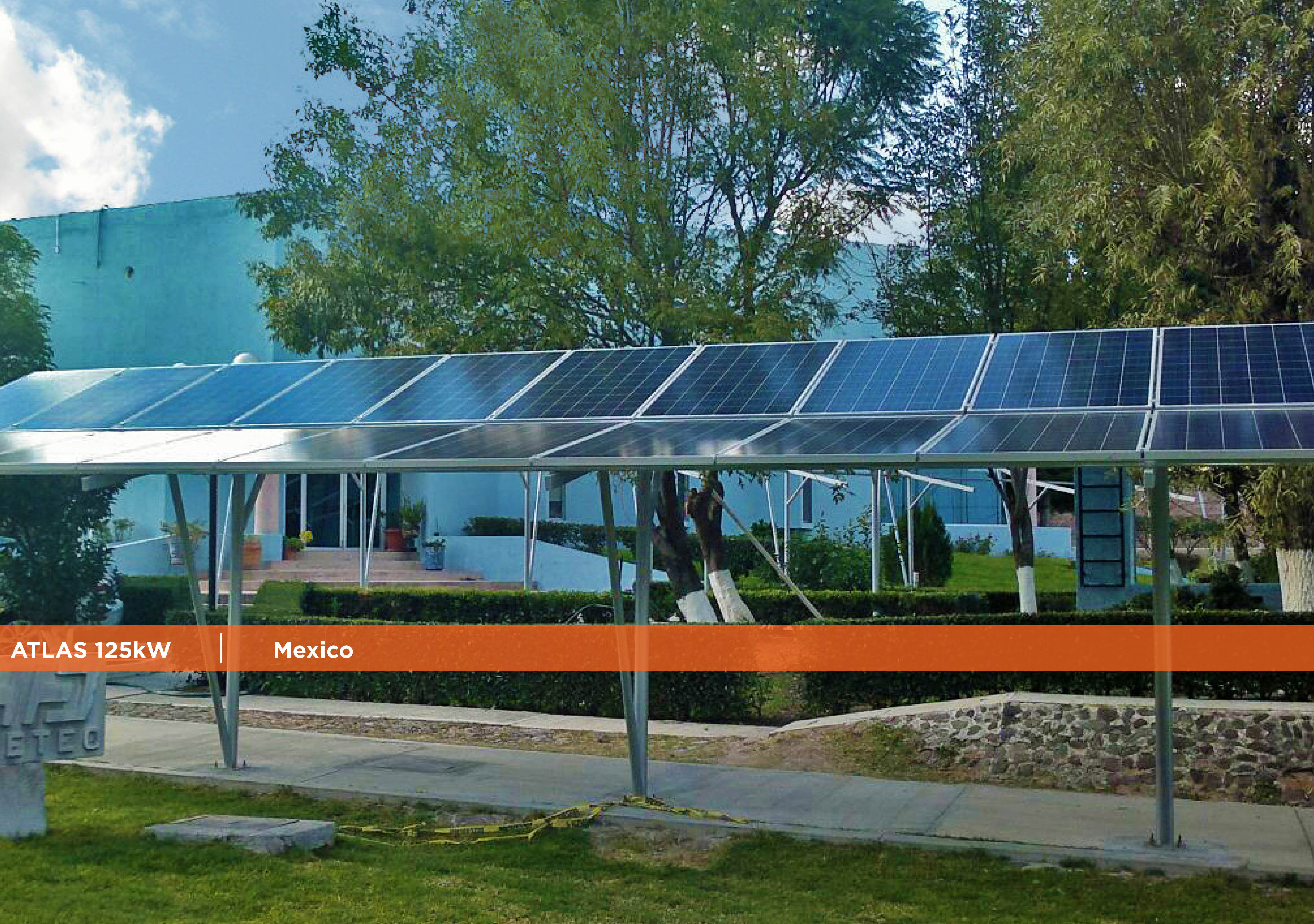 Symtech Solar - Newsletter January 2017-Atlas 125kW Mexico