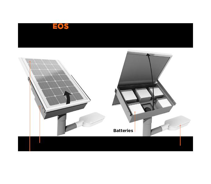Symtech Solar - Eos 2 - Solar Street Light